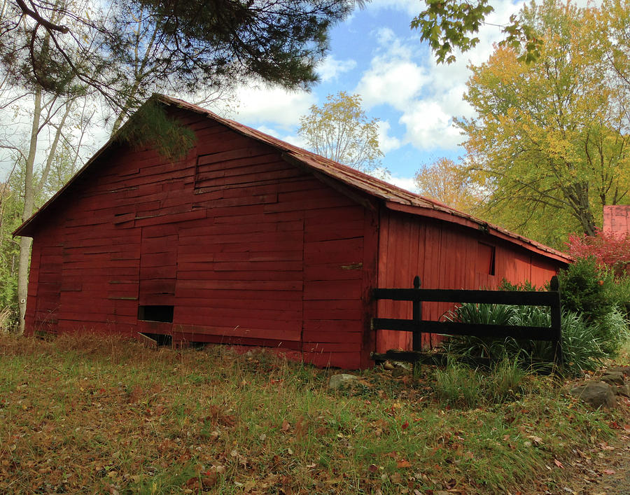 Old Barn Photograph by Iris Posner