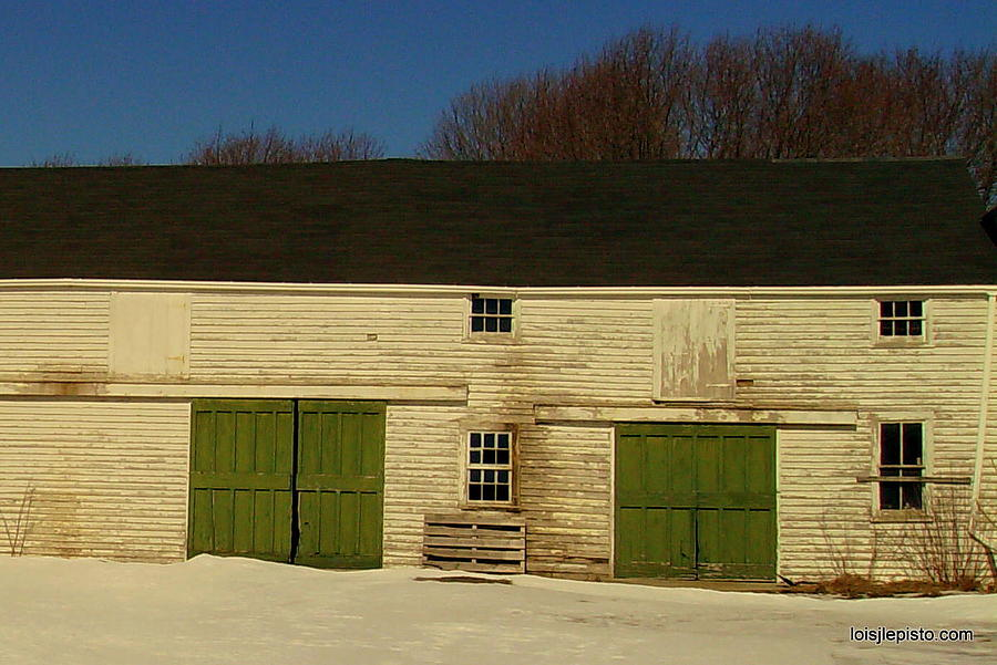 Barn Photograph - Old Barn by Lois Lepisto