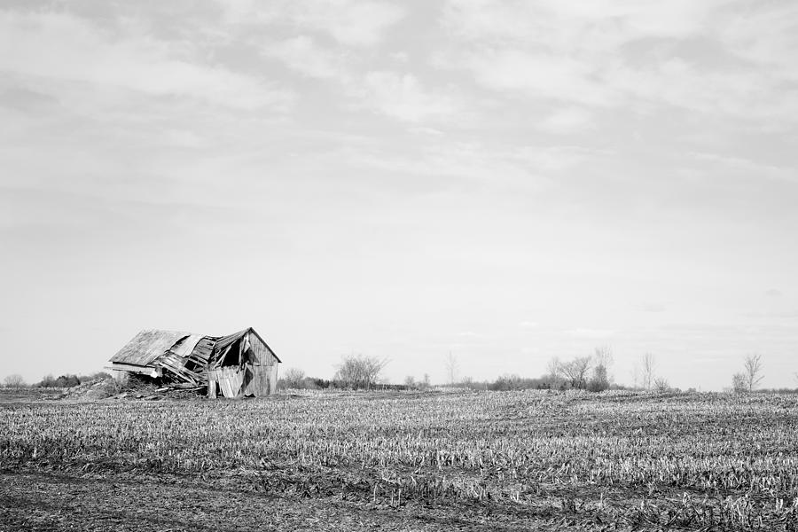 Barn Photograph - Old Barn by Martin Rochefort