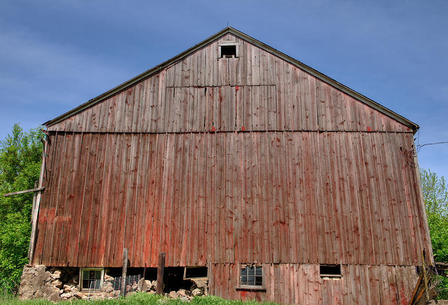 Barn Photograph - Old Barn  by Shane Mossman