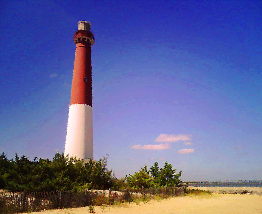 Lighthouse Photograph - Old Barney by Colleen Kammerer