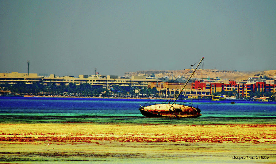 Egypt Photograph - Old Barque by Chaza Abou El Khair