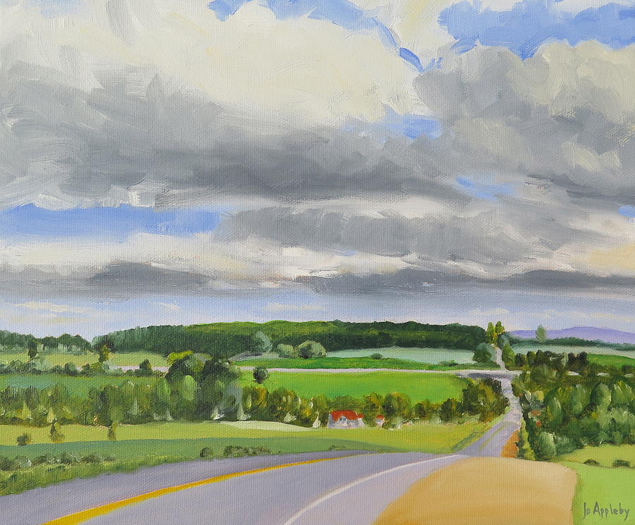 Old Barrie Road by Jo Appleby