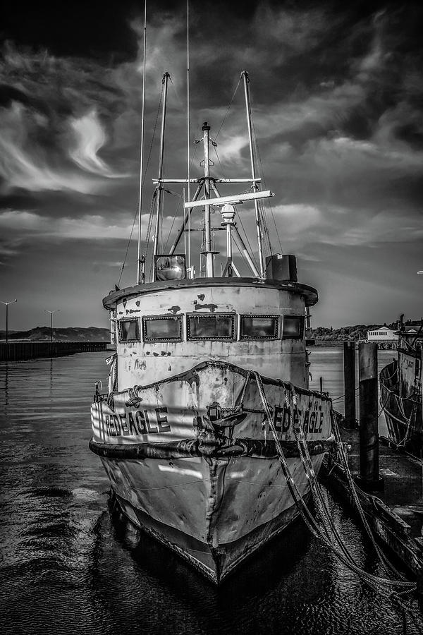 Old Battered Fishing Boat by Jason Brooks