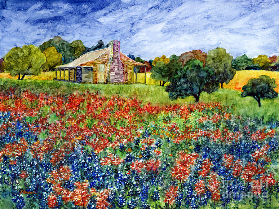 Old Baylor Park Painting