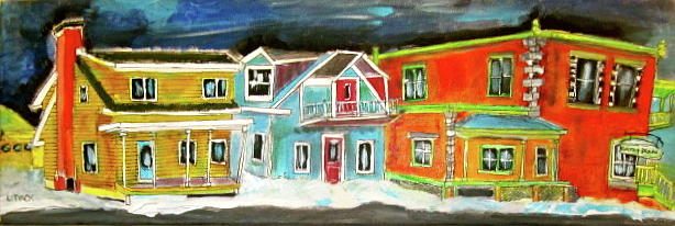 Quebec Painting - Old Beloeil by Michael Litvack