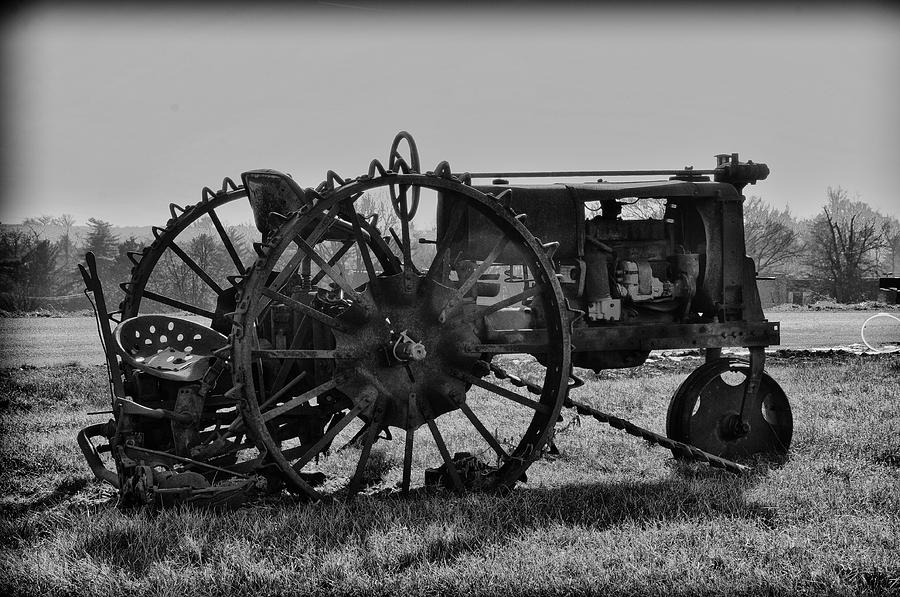 Tractor Photograph - Old Betsy by Bill Cannon