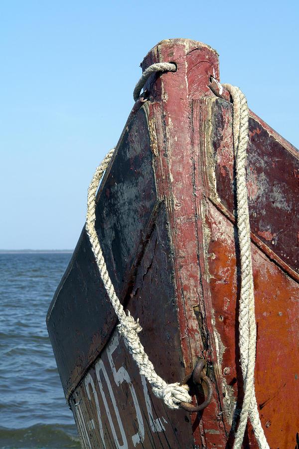 Boat Photograph - Old Boat by Stanislovas Kairys