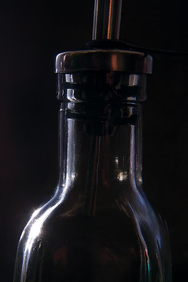 Bottle Photograph - Old Bottle by Steve Somerville