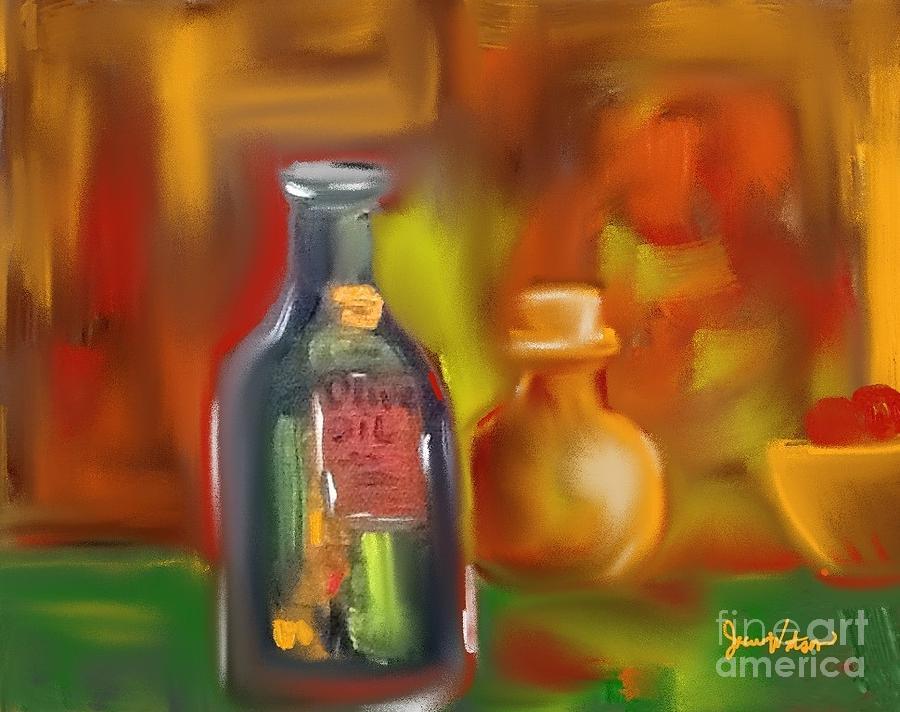 Old Bottles by Jeanie Watson