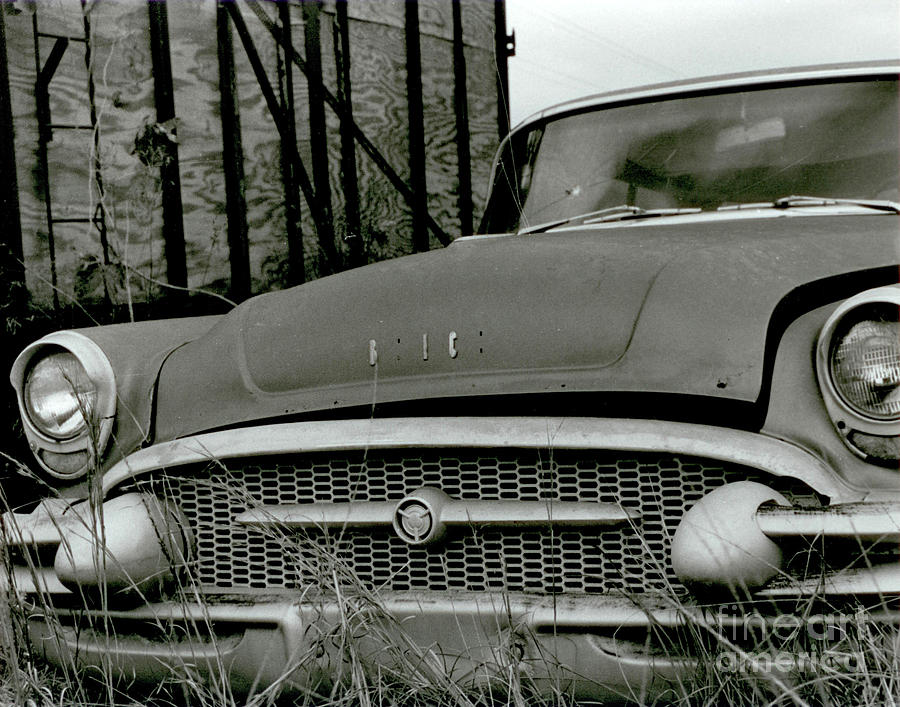 Old Buick Photograph
