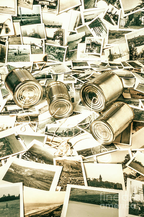 Telephone Photograph - Old Business Wires by Jorgo Photography - Wall Art Gallery