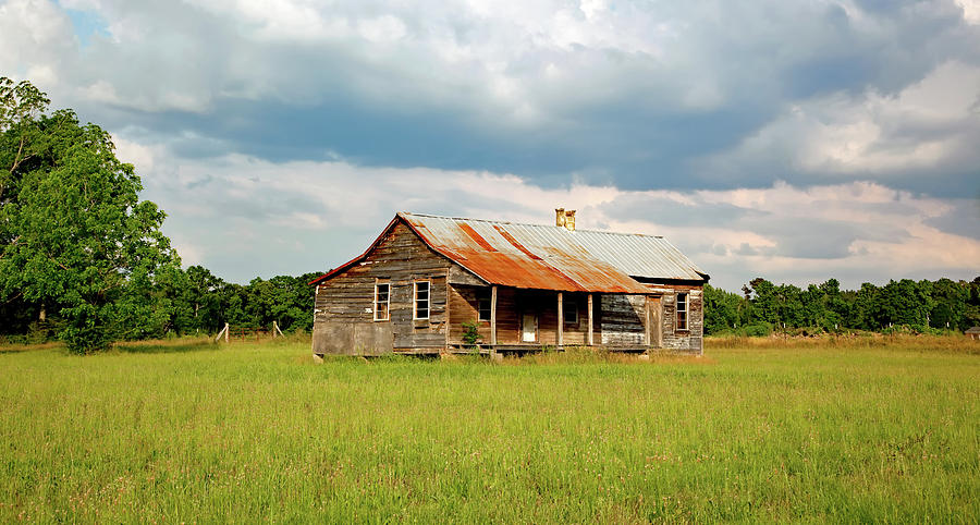 Alabama Photograph - Old Cabin by Mountain Dreams