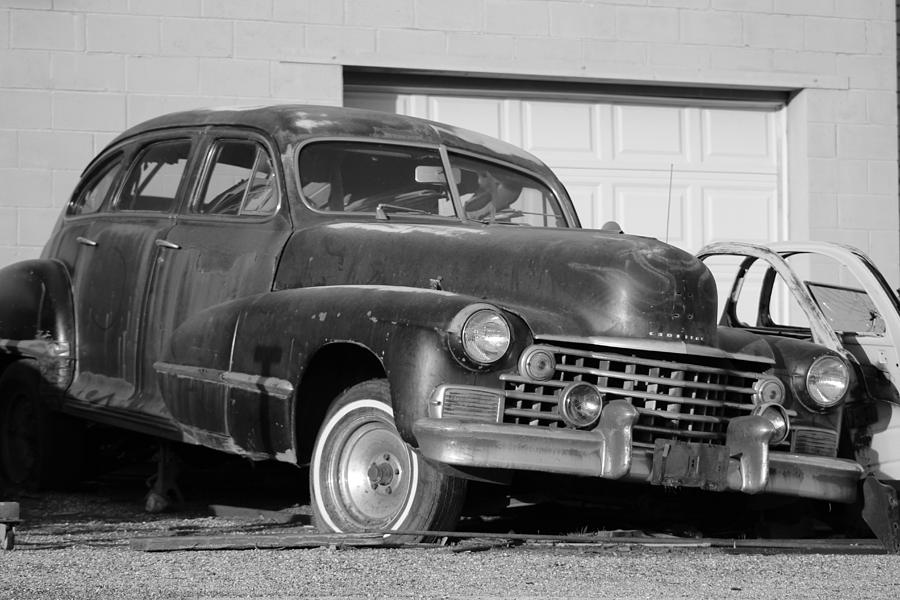 Old Cadillac Photograph - Old Cadillac by Colleen Cornelius