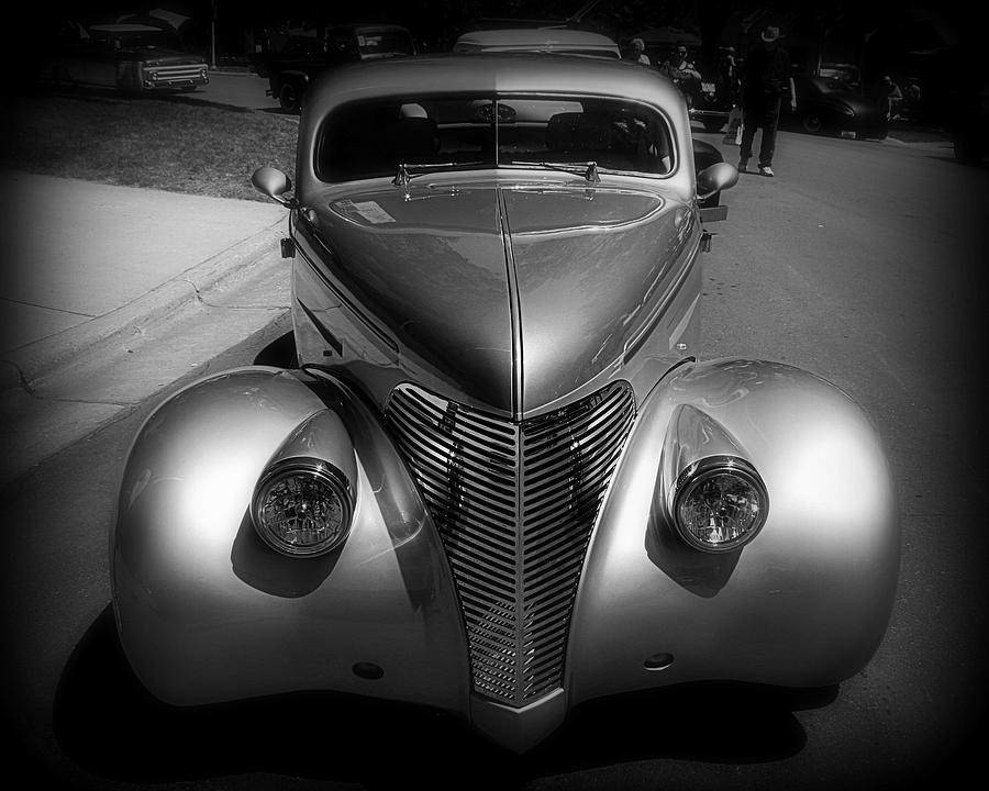 Old Photograph - Old Calssic Car by Perry Webster