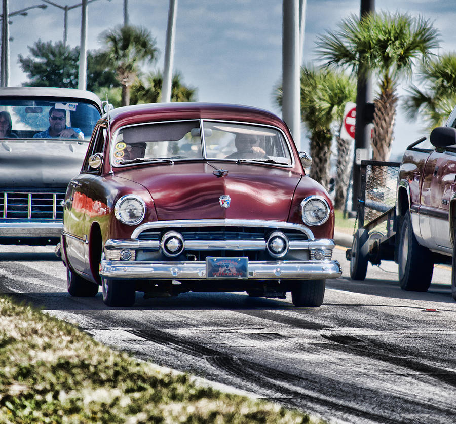 Old Car 1 by Cathy Jourdan
