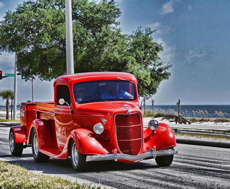 Old Car 2 by Cathy Jourdan