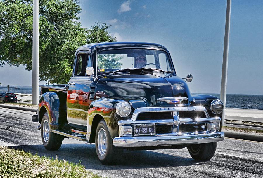 Old Car 3 by Cathy Jourdan