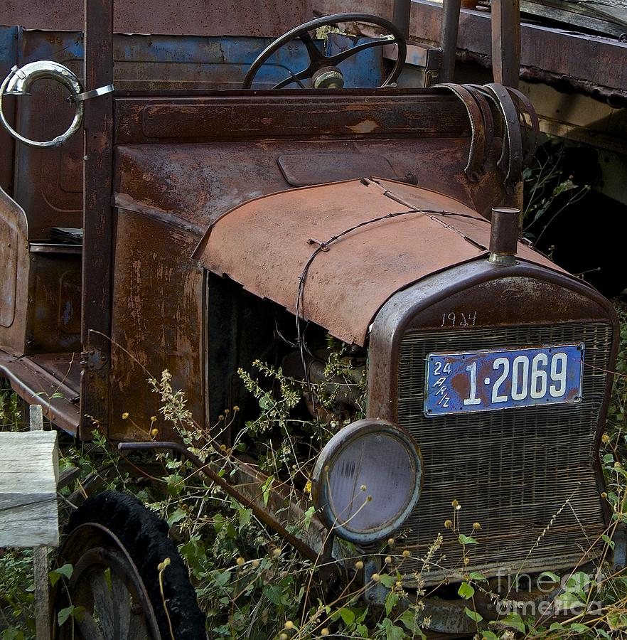 Old Truck Photograph - Old Car by Anthony Jones