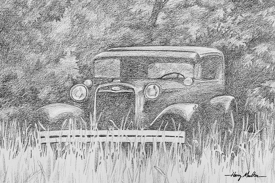 Old Car at Rest by Harry Moulton
