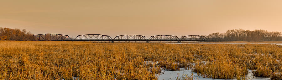 Americas Photograph - Old Cedar Road Bridge by Roderick Bley