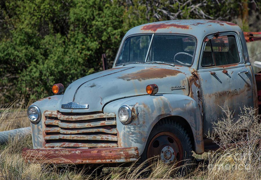 Old Chevy Photograph By Stephen Whalen