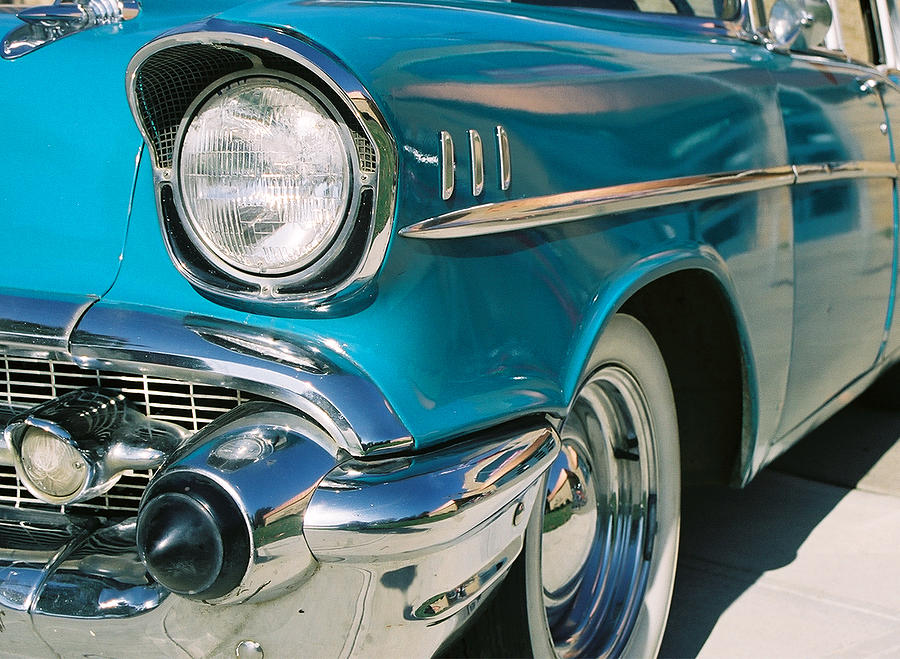 Chevy Photograph - Old Chevy by Steve Karol