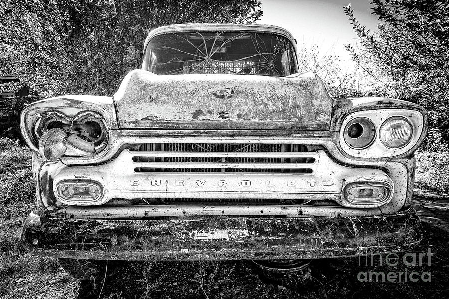Mug Photograph - Old Chevy Truck by Edward Fielding