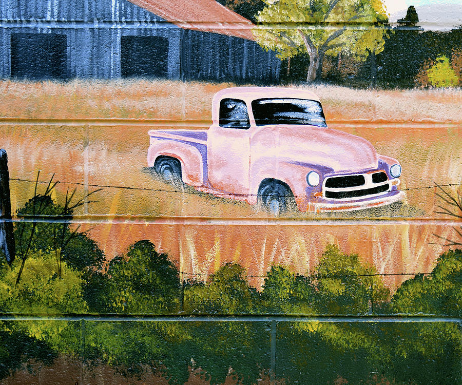 Painting Photograph - Old Chevy Truck by Pat Turner