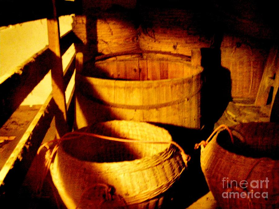 Bath Tub Photograph - Old Chinese Attic 5 by Kathy Daxon
