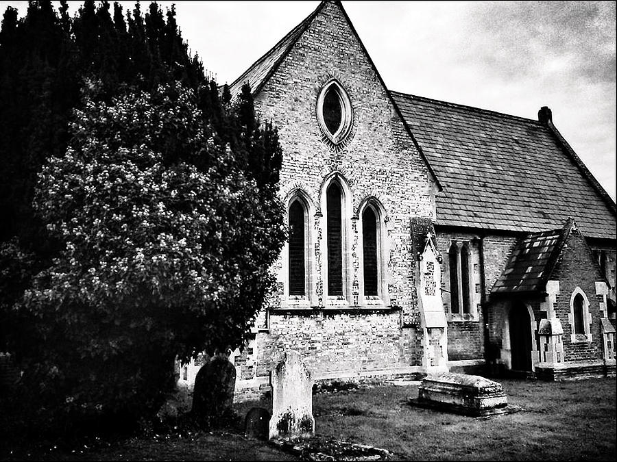 Old Church Photograph - Old Church by Andrew David Photography