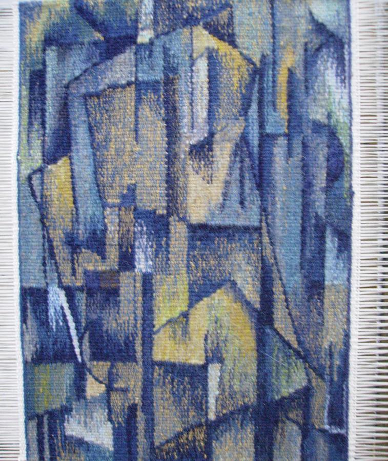 City Tapestry - Textile - Old City by Inara Mamedova