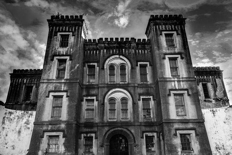 Old Photograph - Old City Jail by Drew Castelhano