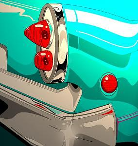 Classic Car Digital Art - Old Classic by Carlos Rosado