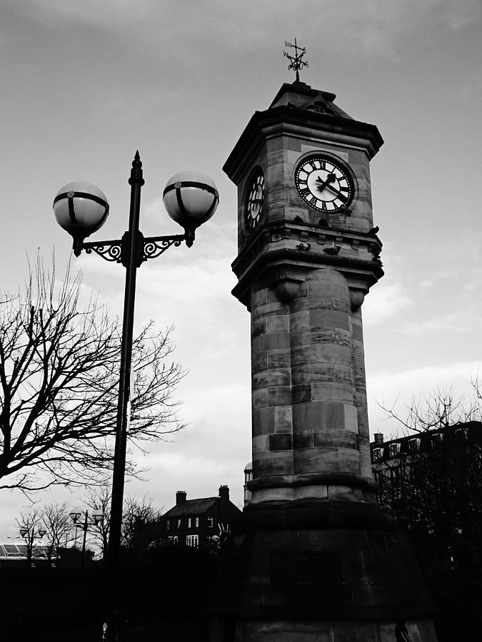 Clock Photograph - Old Clock Tower  by Robert Naworol