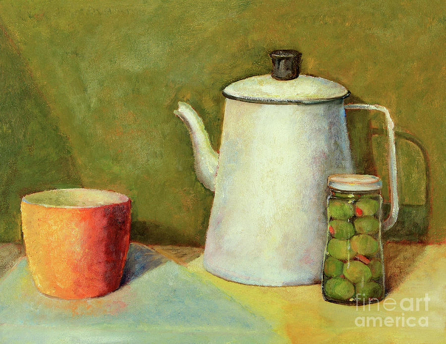 Old Coffee Pot Still Life by Pattie Calfy