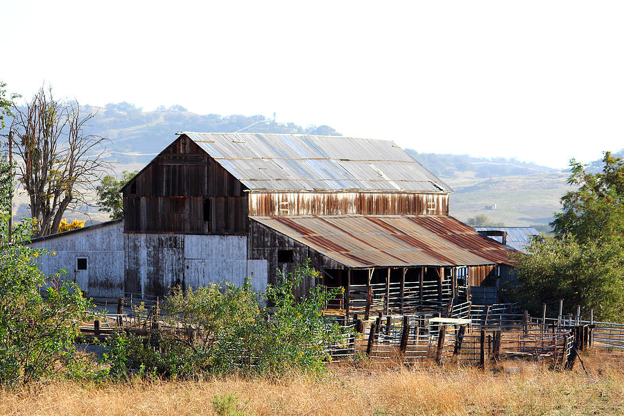 Country Photograph - Old Country Barn by Stephanie Moses