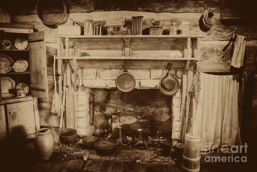 Kitchen Photograph Old Country Kitchen By Paul W Faust Impressions Of Light