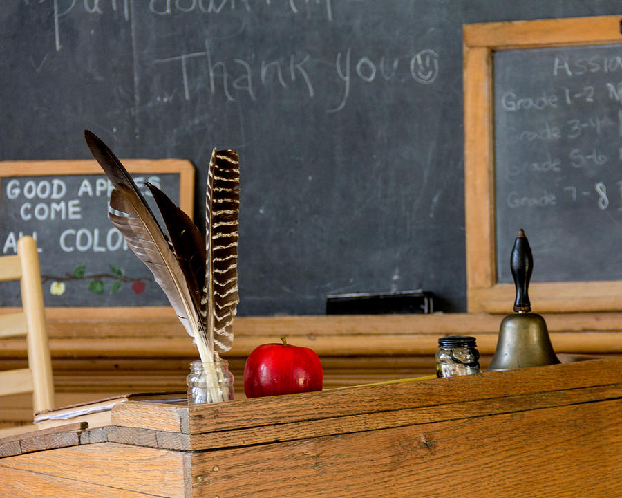 Old Country Schoolhouse Photograph By Spirit Vision Photography
