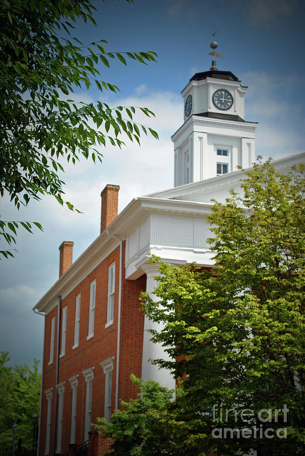 Winchester Photograph - Old Court House by Jost Houk