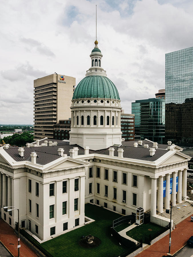 Courthouse Photograph - Old Courthouse - St. Louis, Mo by Dylan Murphy