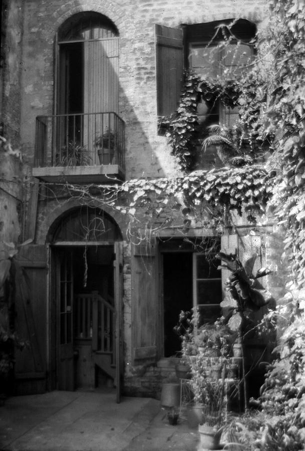 New Orleans Photograph - Old Courtyard by Crescent City Collective