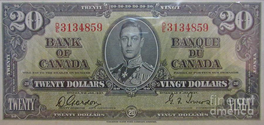 Old Currency Photograph - Old Currency  by John Malone