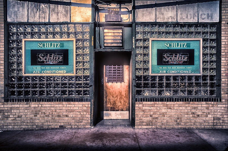 Old Denver Bar Front Door Photograph By John Brink