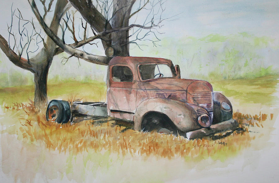 Old Dodge Truck by Patricia Ricci
