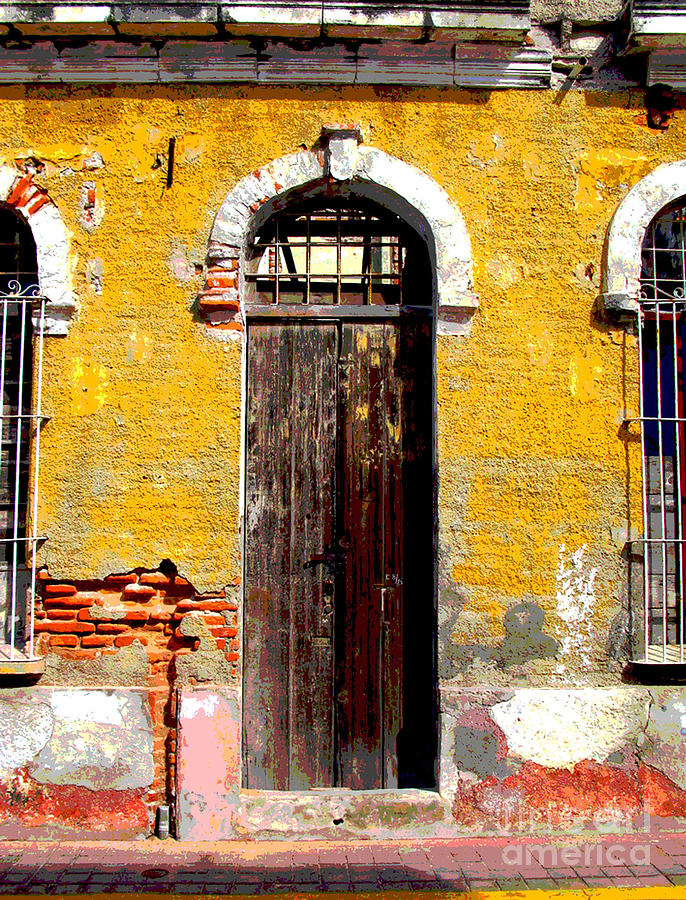 Darian Day Photograph - Old Door 2 By Darian Day by Mexicolors Art Photography