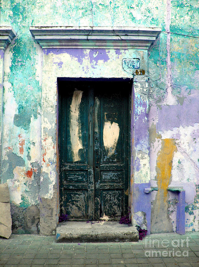 Darian Day Photograph - Old Door 4 By Darian Day by Mexicolors Art Photography