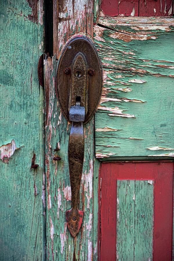 Old Door Knob 2 by Joanne Coyle