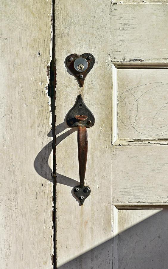 Old Door Knob 3 by Joanne Coyle