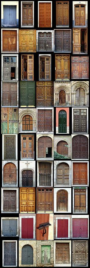 Old Doors Photograph - Old Doors by Frank Tschakert